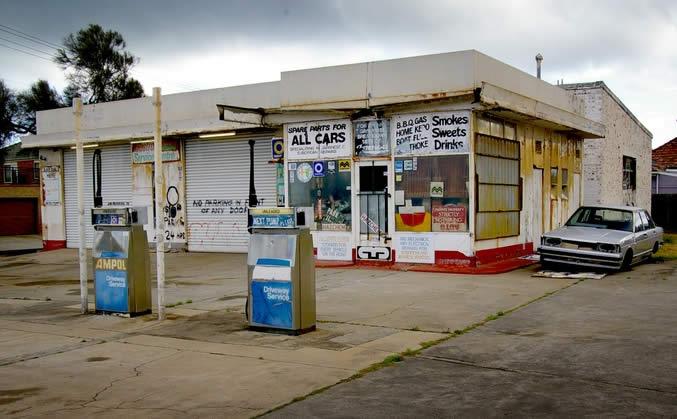 old-service-station